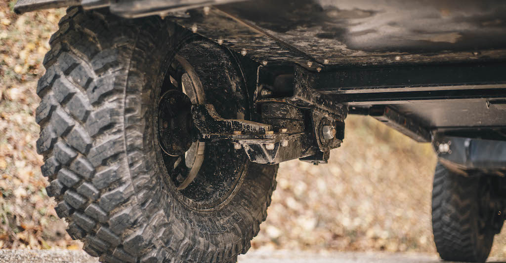 Off Road Trailer Axle and Suspension