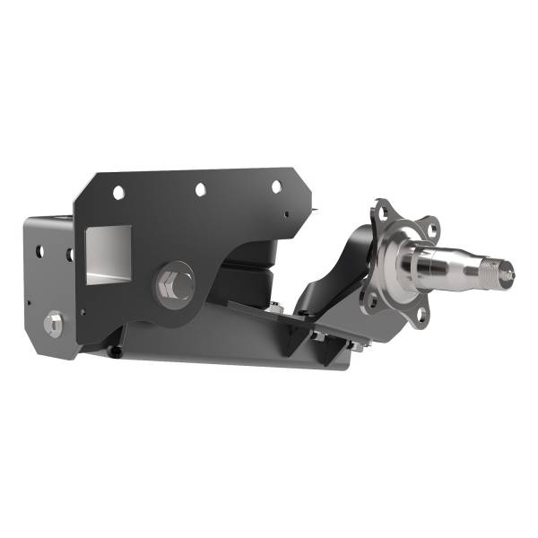 1200 lb Axle-Less Trailer Suspension w/ Brake Flange