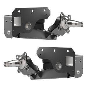 1200 lb Axle-Less Trailer Suspension w/ Brake Flange - Image 2