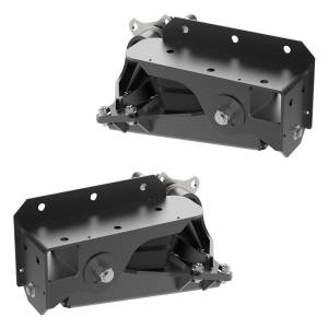 1200 lb Axle-Less Trailer Suspension w/ Brake Flange - Image 3