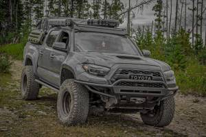 Timbren - Toyota Tacoma Front & Rear Active Off-Road Bumpstop Package With U-Bolt Flip Kit - Image 3